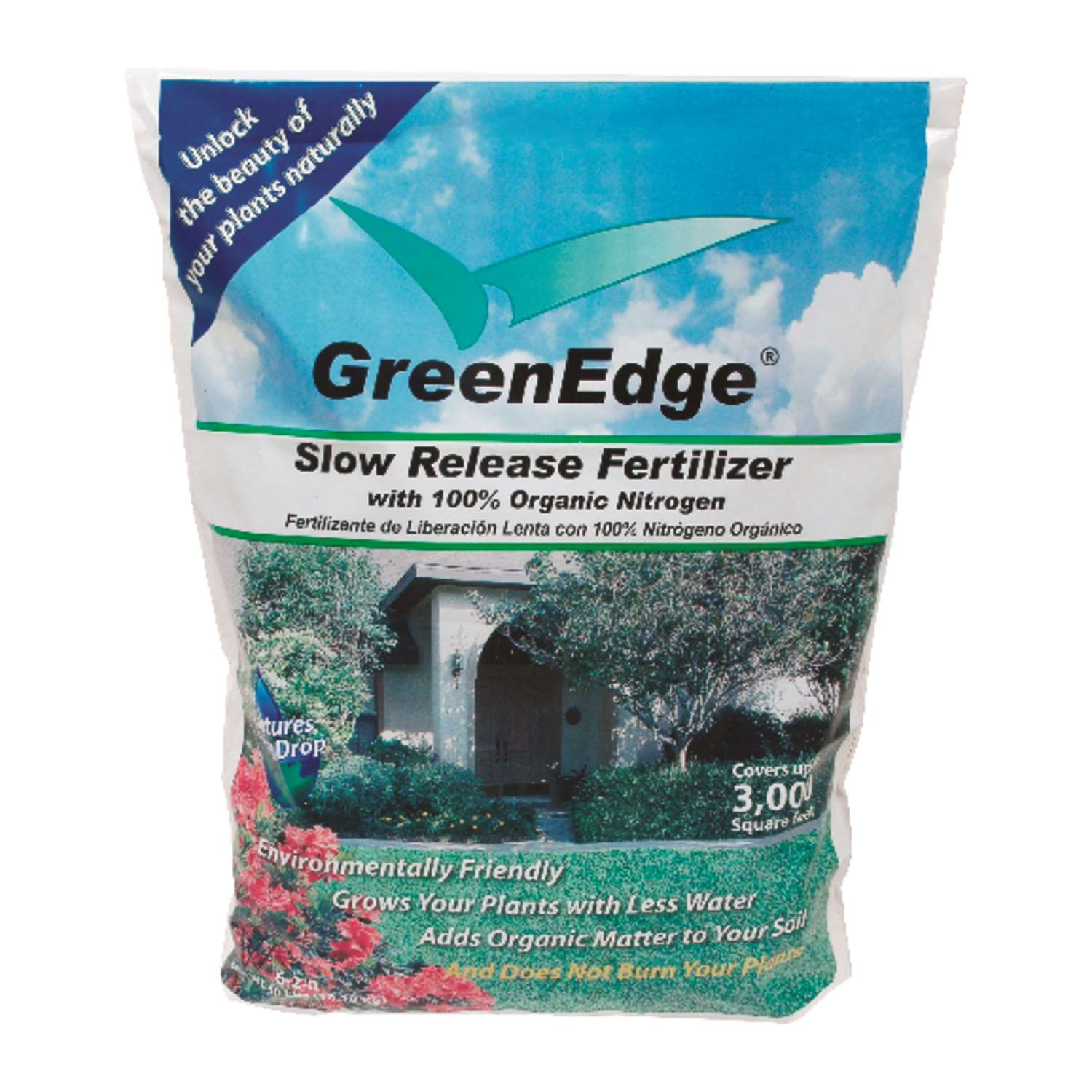 Greenedge Organic Lawn Fertilizer - Milorganite Alternative