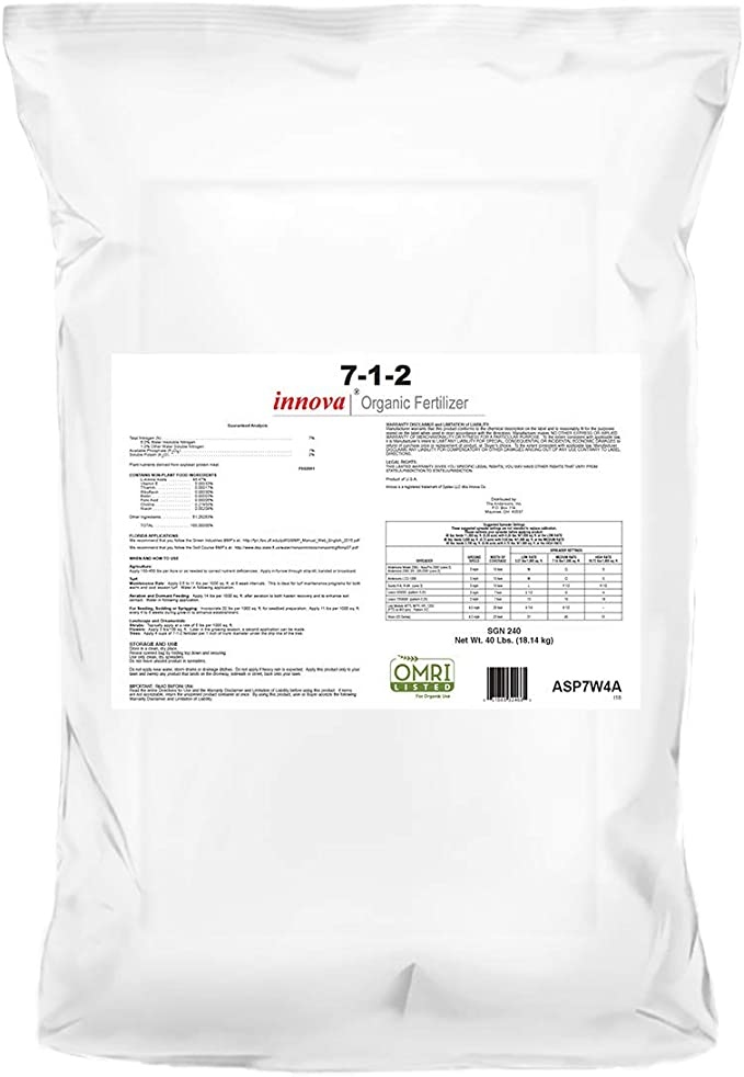 The Andersons Innova 7-1-2 Lawn Fertilizer - Milorganite Alternative