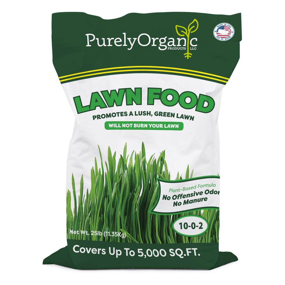 Purely Organic Lawn Food - Milorganite Alternative